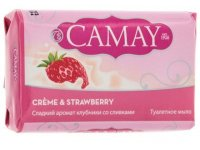 TM Camay Creme + strawberry 85g