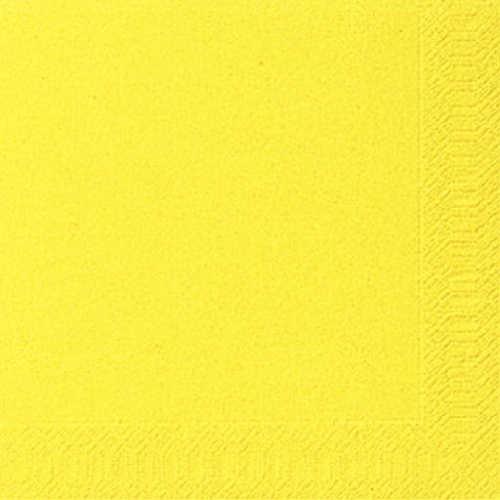 Ubrousek 33x33 3V Žlutý 20ks