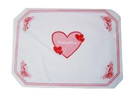 Prostírka 30x40 Valentine 100ks