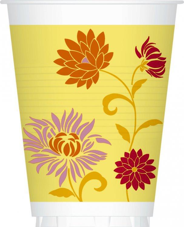Kelímek papírový 0,2l Capri Yellow 12ks