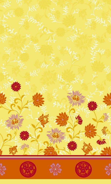 Ubrus 138x220cm Capri Yellow omyvatelný