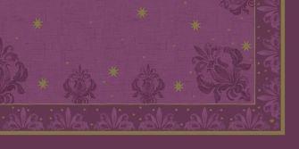 Ubrus 84x84 DCel Farah fialový neomyvat.