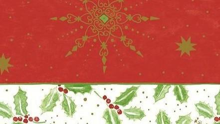 Ubrus 84x84 DCel Classic Christmas neo