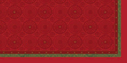 Ubrus 84x84 DCel Festive Charme Red neo.