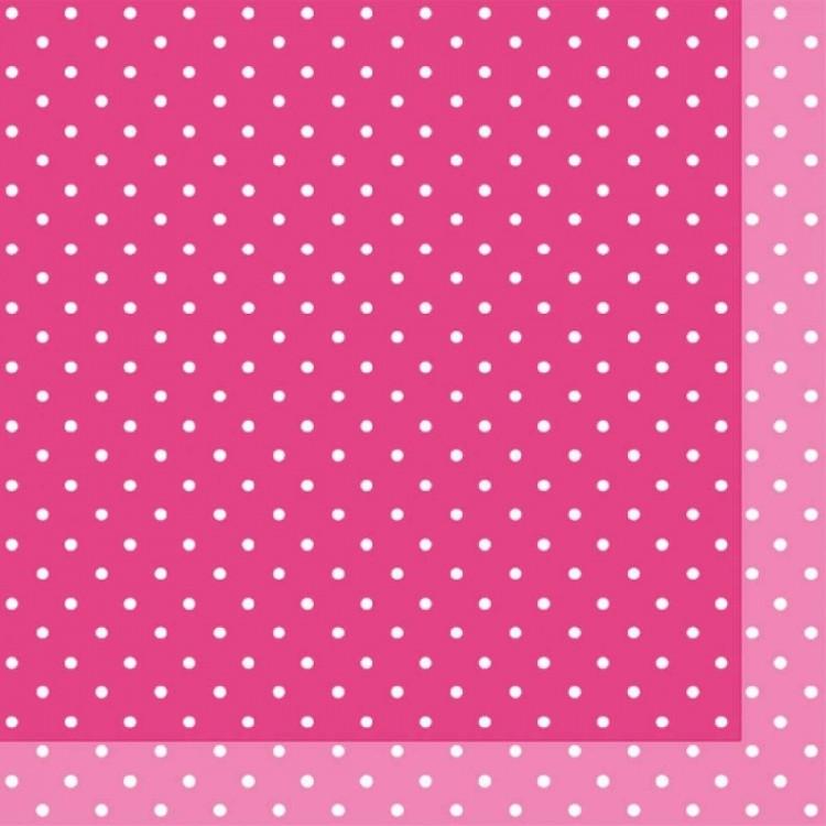 Ubrousek 33x33 3V Brook Pink 20ks