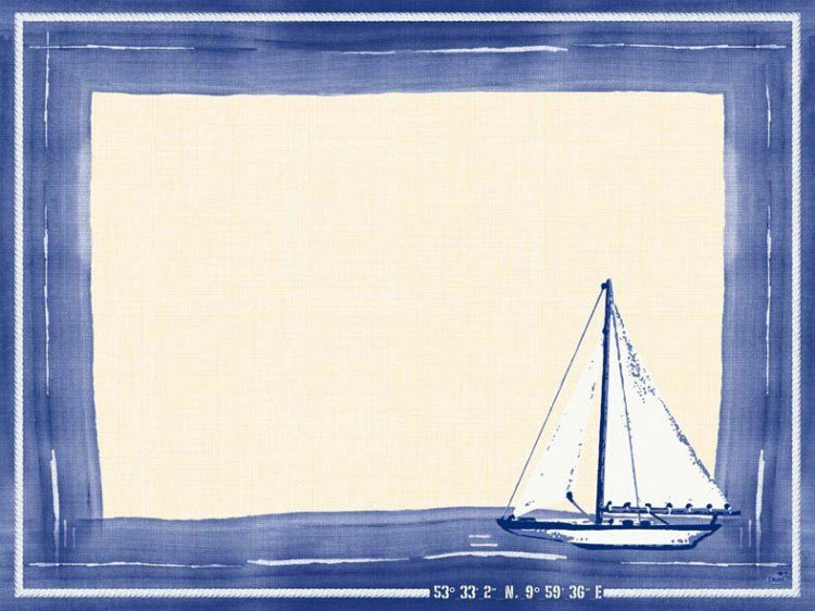 Prostírka 30x40 DCel Sailing 100ks