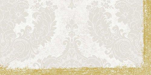 Ubrus 84x84 DSilk Royal White omyvatelný