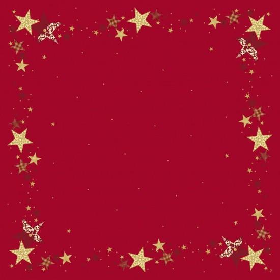 Ubrus 84x84 DSilk Walk of Fame Red omyv