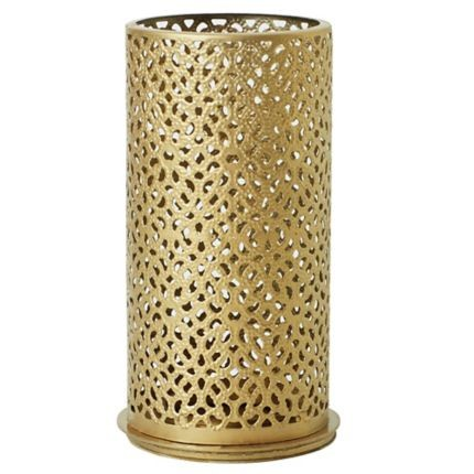 Svícen Bliss Gold  140x75mm