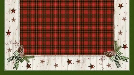 Ubrus 84x84 DCel Naturally Christmas neo
