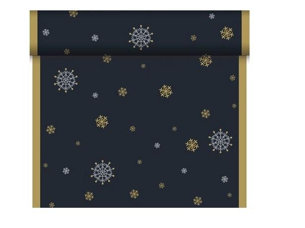 Téte-a-Téte 0.4x24m Snowflake neck Black