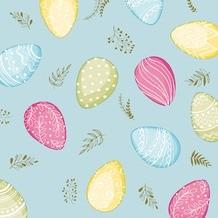 Ubrousek 33x33 3V Pastel Eggs 20ks