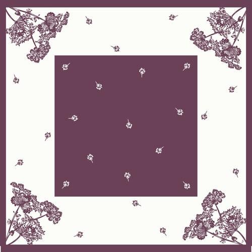 Ubrus 84x84 Dsilk Yarrow omyvatelný