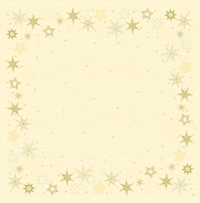 Ubrus 84x84 DSilk Star Stories cream