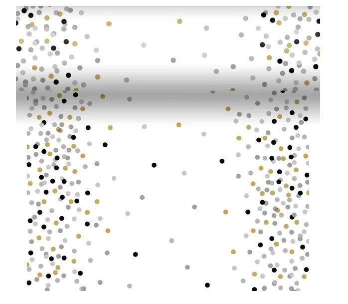 Téte-a-Téte 0,4x4,8m Dream Dots Black
