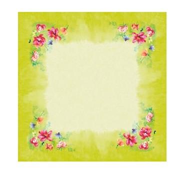 Ubrus 84x84 DSilk Garden Joy omyvatelný