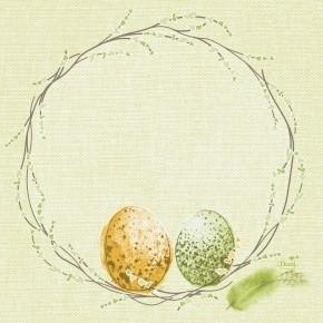 Ubrousek 33x33 3V Easter Pastule 50ks