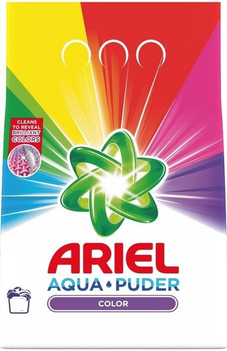 Ariel 45dávek/3.375kg Color Touch Lenor