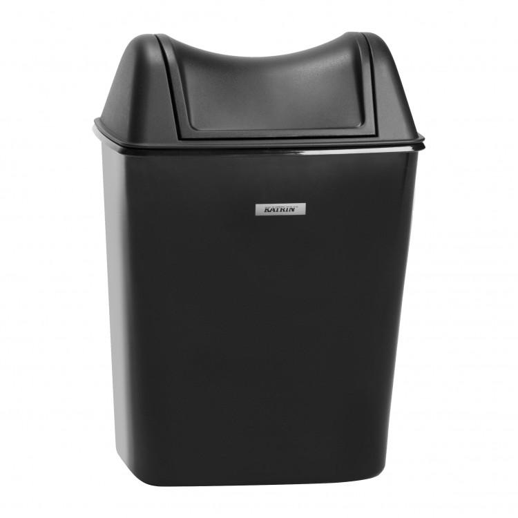 Katrin Incl. odpadkový koš 8l Black
