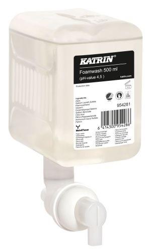 Tek. mýdlo na ruce Katrin 0.5l zpěňovací